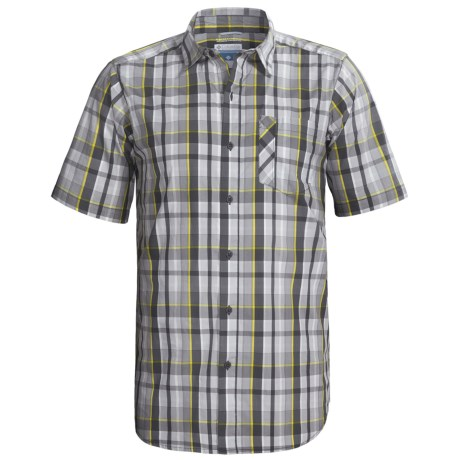 Columbia Sportswear Decoy Rock Shirt - Short Sleeve (For Tall Men)