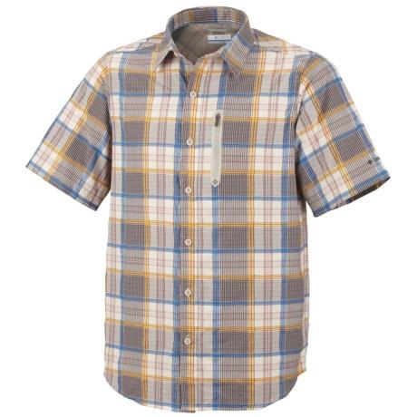 Columbia Sportswear Rappel Kick Plaid Shirt - UPF 15, Short Sleeve (For Men)