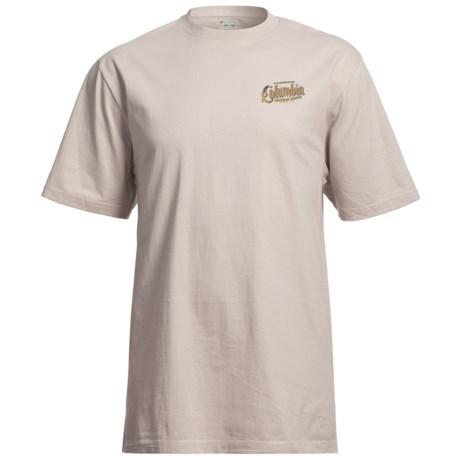 Columbia Sportswear Mazama Ridge T-Shirt - UPF 15, Short Sleeve (For Tall Men)