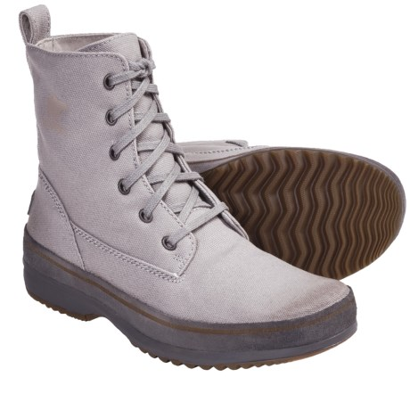 Sorel Woodbine Surplus Boots - Canvas (For Men)