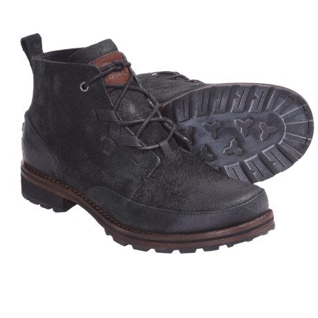 Sorel King Stacked Chukka Boots - Leather (For Men)