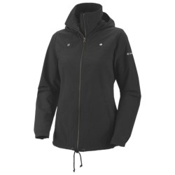 Columbia Sportswear Arch Cape II Jacket - UPF 15, Adventure Cloth (For Plus Size Women)