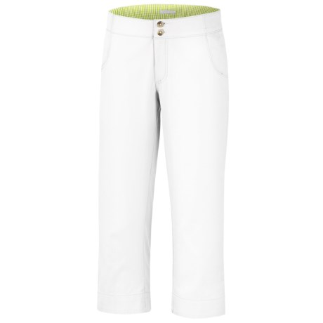 Columbia Sportswear Super Bonehead Capris - UPF 30, Peached Cotton Twill (For Women)