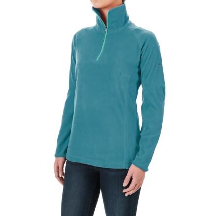 Columbia Sportswear Glacial Fleece III Fleece Shirt - Long Sleeve (For Women) in Deep Marine - Closeouts