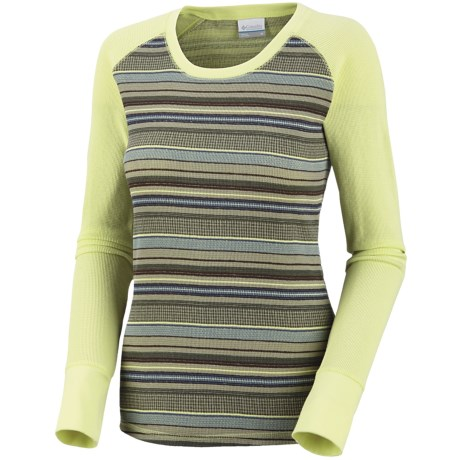 Columbia Sportswear Taylor Trail Shirt - Crew Neck, Long Sleeve (For Women)