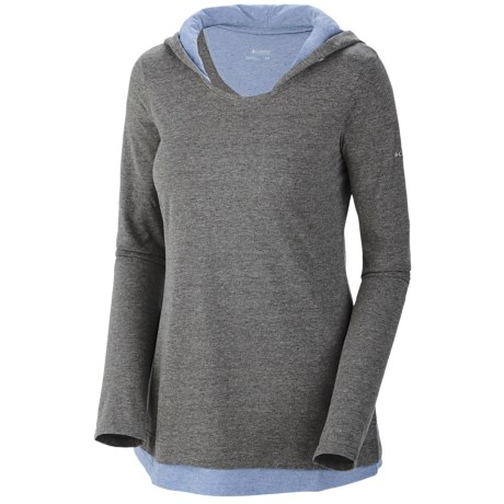 Columbia Sportswear Knotty Trail Hooded Shirt - Long Sleeve (For Women)