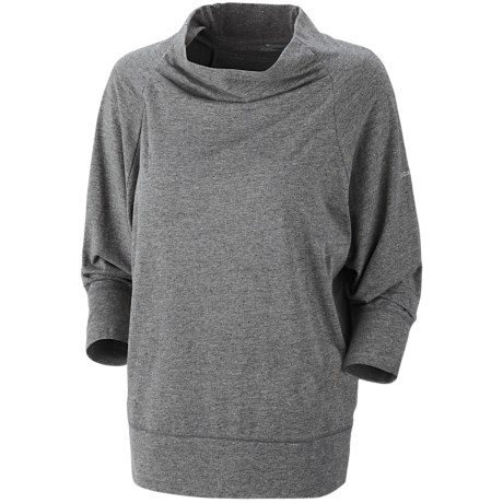 Columbia Sportswear Knotty Trail Shirt - Cowl Neck, 3/4 Sleeve (For Women)