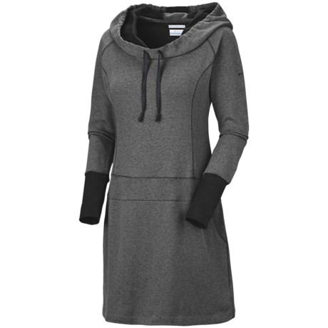 Columbia Sportswear Heather Honey Dress - Hooded, Long Sleeve (For Women)