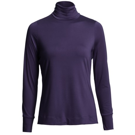 Thermaskin Heat Turtleneck - Long Sleeve (For Women)