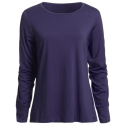 Thermaskin Heat Top - Crew Neck, Long Sleeve (For Women)