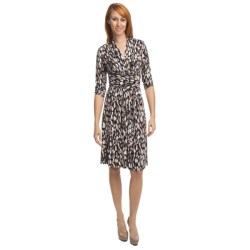Two Star Dog Tatiana Belted Dress - 3/4 Sleeve (For Women)