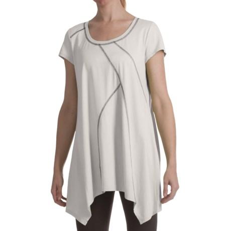 Two Star Dog Calliope Shirt - Handkerchief Hem, Short Sleeve (For Women)