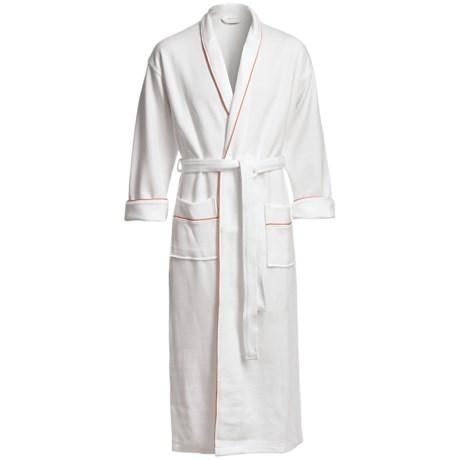 Koni Contrast Kimono Robe - Long Sleeve (For Men and Women)