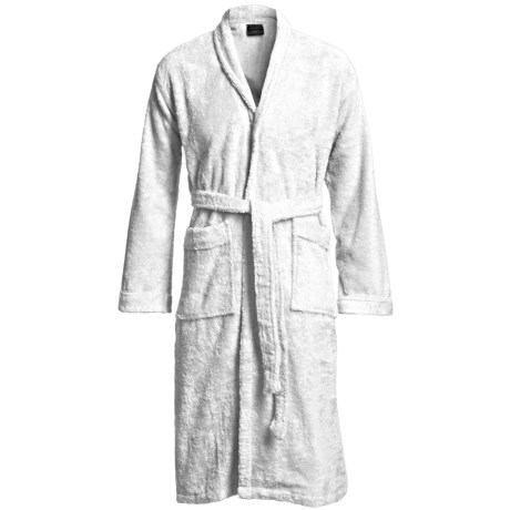 Welspun Prism Shawl Collar Robe - Combed Cotton, Long Sleeve (For Men and Women)
