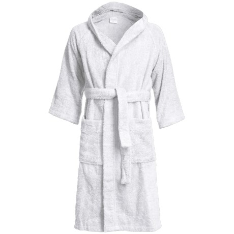 Welspun Lumina Hooded Robe - Cotton, Long Sleeve (For Men and Women)