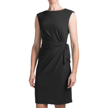 Chetta B Ity Side Drape Dress - Sleeveless (For Women)