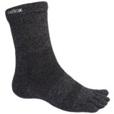ToeSox ULTRA Sport Crew Socks - Lightweight (For Men and Women)