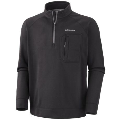 Columbia Sportswear Liquid Rock Fleece Jacket - Zip Neck (For Men)