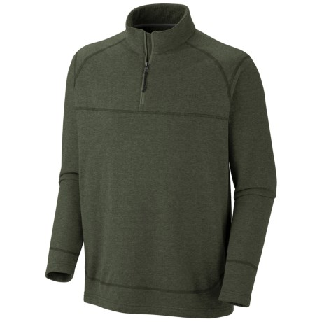 Columbia Sportswear Hard Edge Shirt - Zip Neck, Long Sleeve (For Men)