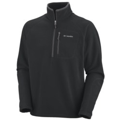 Columbia Sportswear Fast Trek II Fleece Pullover Jacket - Zip Neck (For Men)