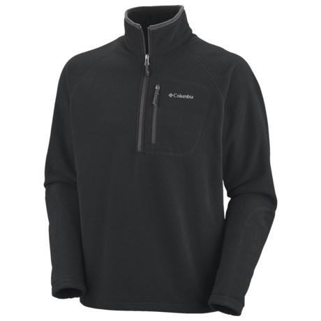 Columbia Sportswear Fast Trek II Fleece Pullover Jacket - Zip Neck (For Men)
