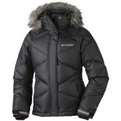 Columbia Sportswear Mini Lay D Down Puffer Omni-Heat® Jacket (For Girls)