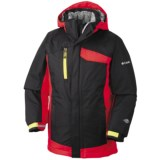 Columbia Sportswear Ryder Warmth Omni-Tech® Omni-Heat® Jacket - Long, Waterproof (For Boys)