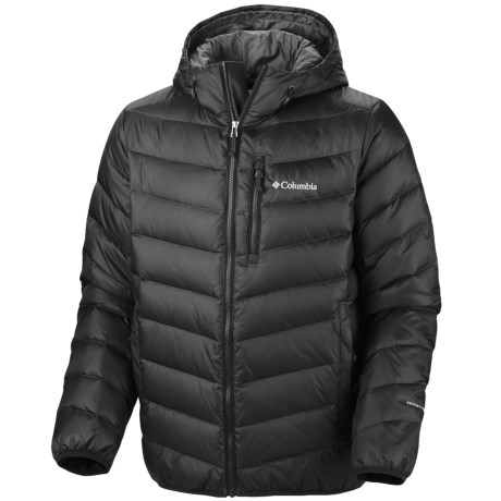 Columbia Sportswear Hellfire Omni-Heat® Down Hooded Jacket - 550 Fill Power (For Men)