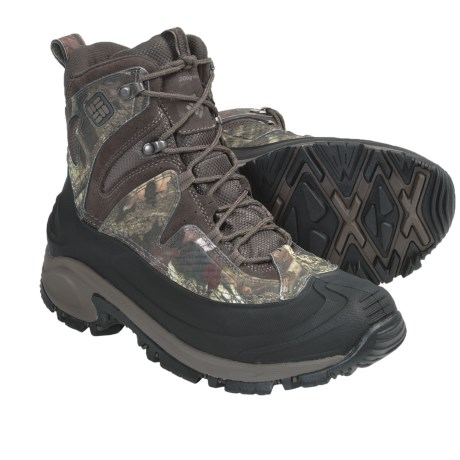 Columbia Sportswear Snowtrek Camo Winter Boots - Mossy Oak® (For Men)