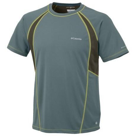 Columbia Sportswear Insight Ice Mesh Crew Shirt - UPF 15, Short Sleeve (For Men)