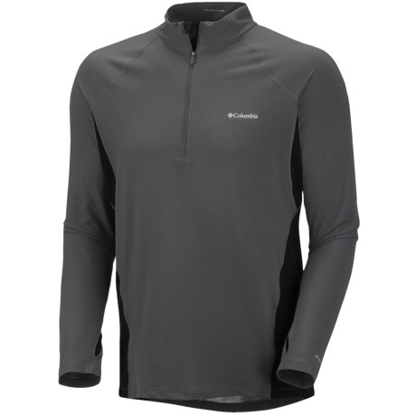 Columbia Sportswear Base Layer Omni-Heat® Top - Zip Neck, Midweight, Long Sleeve (For Men)