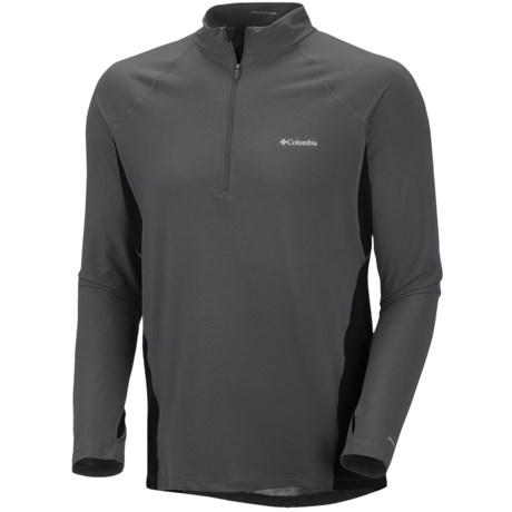 Columbia Sportswear Base Layer Omni-Heat® Top - Zip Neck, Midweight, Long Sleeve (For Men)