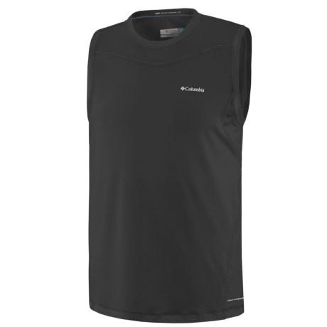 Columbia Sportswear Base Layer Top - Lightweight, Sleeveless (For Men)