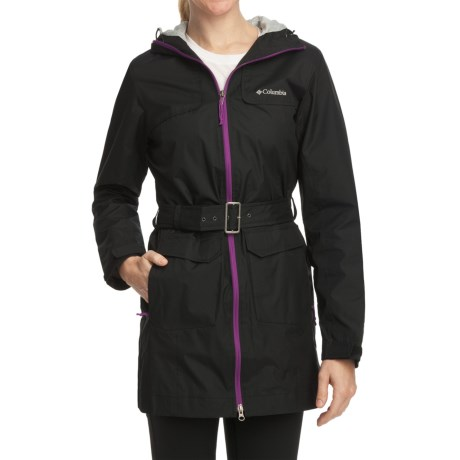 Columbia Sportswear Bowspirit Long Rain Jacket (For Women)