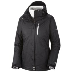 Columbia Sportswear Whirlibird Interchange Omni-Heat®-Omni-Tech® Ski Jacket - 3-in-1 (For Women)