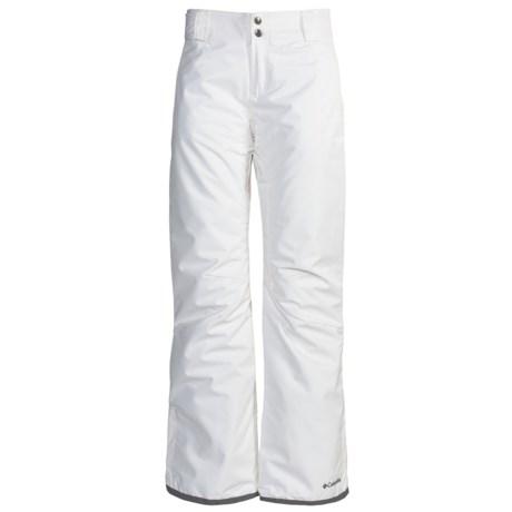 Columbia Sportswear Sur Le Peak 2.0 Omni-Tech® Snow Pants - Waterproof, Insulated (For Women)