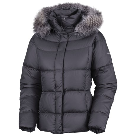 Columbia Sportswear Mercury Maven II Down Jacket - 550 Fill Power, Removable Hood (For Women)