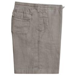 Toscano Drawstring Shorts - Linen (For Men)