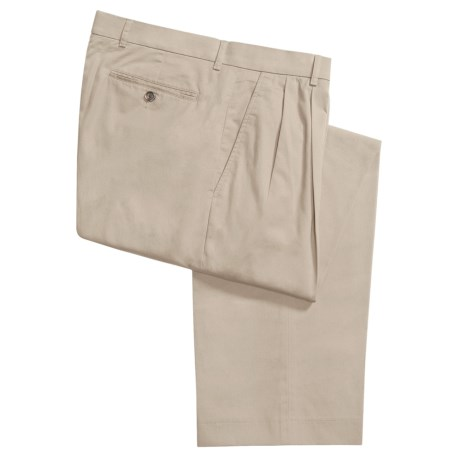 Ballin Sahara Twill Pants - Pleated Front (For Men)