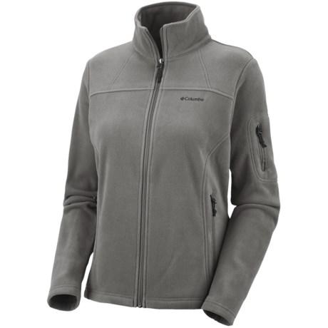 Columbia Sportswear Fast Trek II Fleece Jacket (For Women)