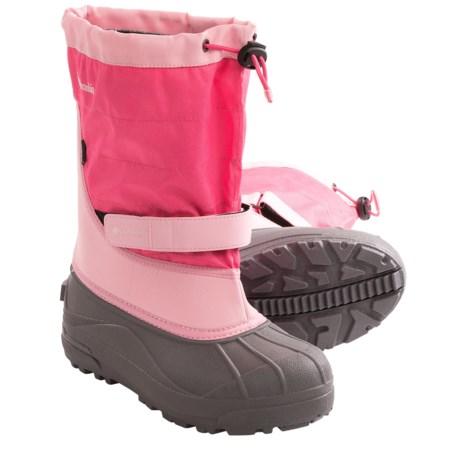 Columbia Sportswear Powderbug Plus II Snow Boots - Waterproof (For Youth)