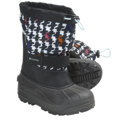 Columbia Sportswear Powderbug Plus II Print Snow Boots - Waterproof (For Youth)