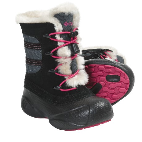 Columbia Sportswear Heather Canyon Omni-Heat® Winter Boots - Leather, Insulated (For Kids)
