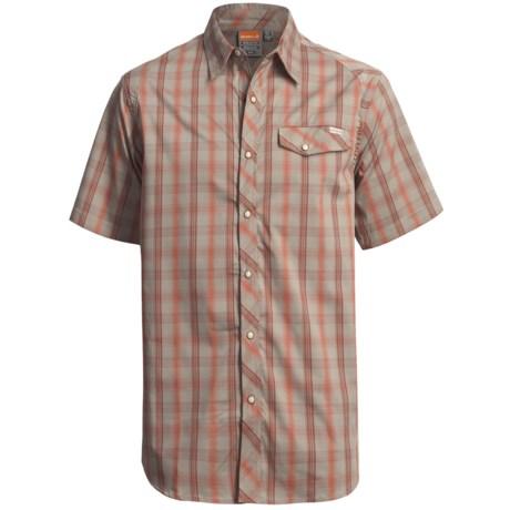Merrell Grafton Plaid Shirt - UPF 20+, Snap Front, Short Sleeve (For Men)
