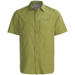 Merrell Sarawak Chambray Shirt - UPF 30+, Short Sleeve (For Men)