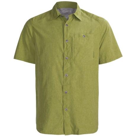Merrell Sarawak Chambray Shirt - UPF 30+, Short Sleeve (For Men)