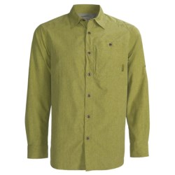 Merrell Sarawak Chambray Shirt - UPF 30+, Roll-Up Long Sleeve (For Men)