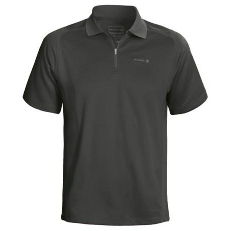 Merrell Acclivity Shirt - UPF 50+, Zip Neck, Short Sleeve (For Men)