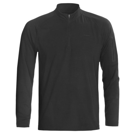 Merrell Geo Shirt - UPF 20+, Zip Neck, Long Sleeve (For Men)