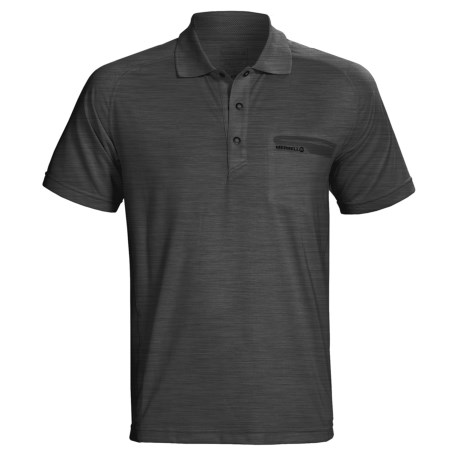 Merrell Geo Polo Shirt - UPF 20+, Short Sleeve (For Men)